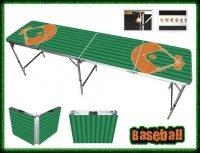 beer pong tables - baseball