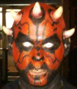 halloween costume darth maul