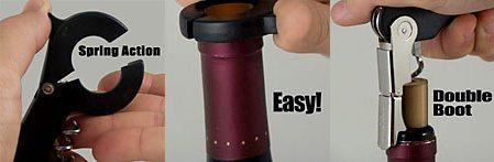 Wine Corkscrews - Wine Bottle Openers