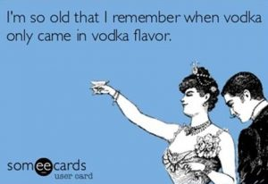 ecards vodka flavor