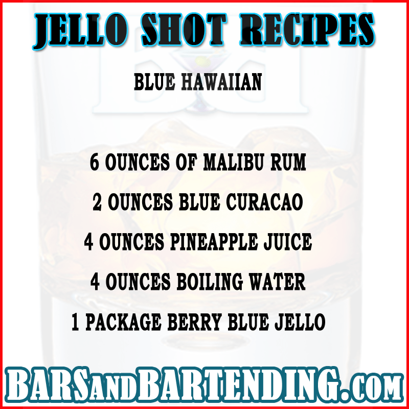 best jello shot recipes
