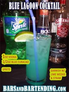 blue lagoon cocktail recipe