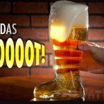 Das Beer Boot Glass & Music Video