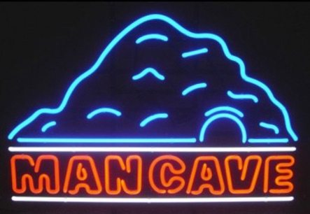 neon bar signs - mancave