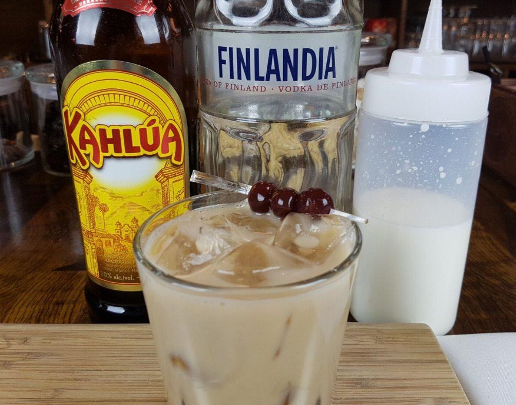 white russian drink recipe