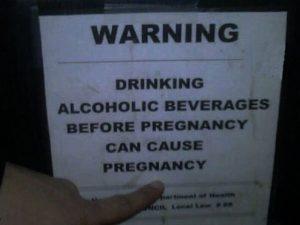 humorous bar signs