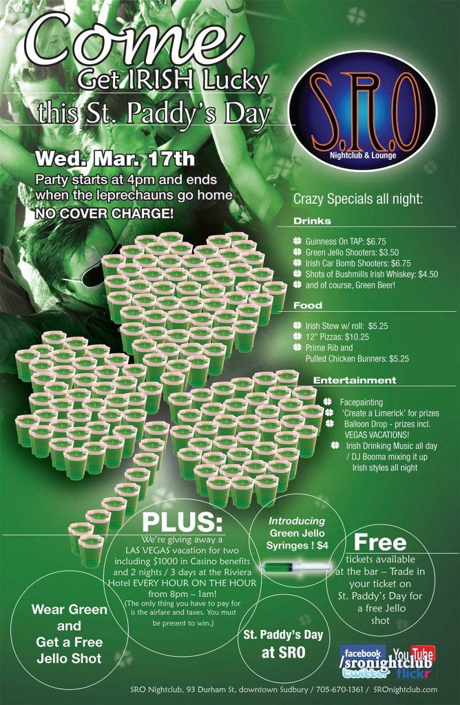 St Paddy Day Activities Poster