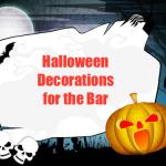 Halloween Bar Decorations