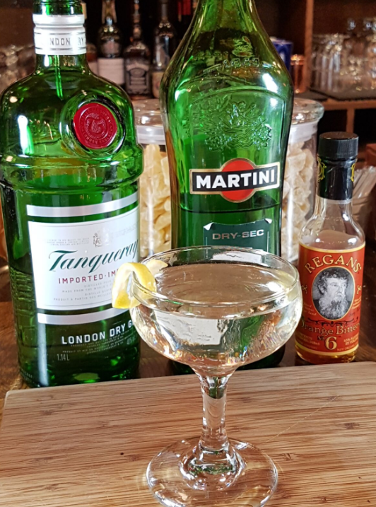 Traditional Martini Recipe