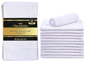 Amazon Talvania Kitchen Bar Mop Cleaning Towels 100 Pure Cotton Kitchen Towels
